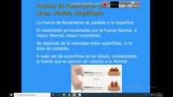 FÍSICA 1 - INEL - CLASE 7 - FUERZAS DE ROZAMIENTO - SISTEMAS INERCIALES