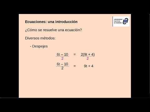 Introducción a las ecuaciones - Parte 2
