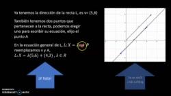 Recta que pasa por dos puntos en R^2