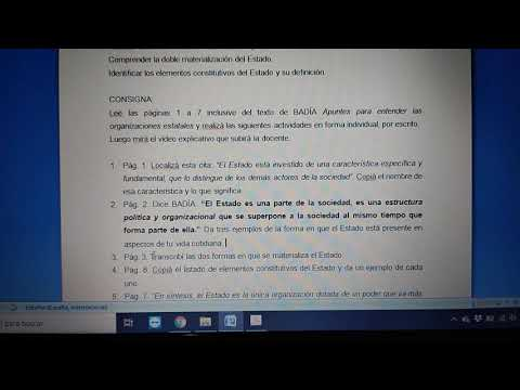 IOPA - Elementos constitutivos del Estado. Su doble materialización.