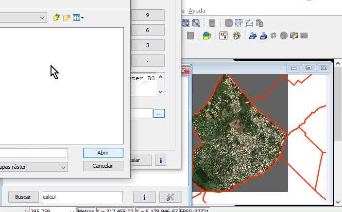 SIG - Raster Satelital - Paso 5 - Calculadora de mapas