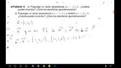 Ecuación normal del plano