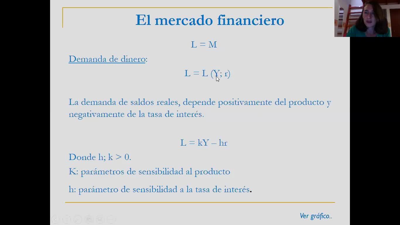 18_Unidad Nº4 - Teórico - Repaso Modelo IS-LM