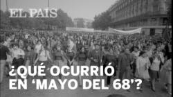 ¿Qué ocurrió en MAYO DEL 68?