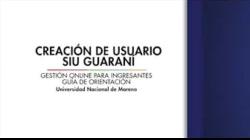 03- Creación de Usuario Siu Guaraní