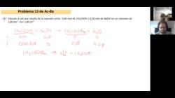Ejercicio 13 de ácido-base