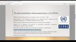 La CEPAL y el Estructuralismo Latinoamericano