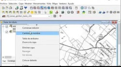 SIG Ejercicio 02 paso B : crear capa shapefile - gvSIG