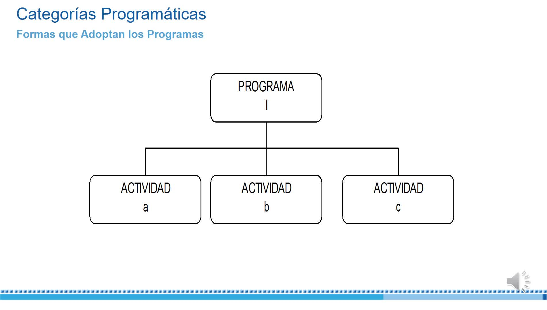 Categorías programáticas- segunda parte.