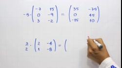 Producto de una matriz por un escalar o real   Ejemplo 1