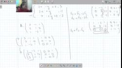 Inversa de matriz de 3x3