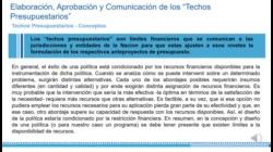 9 FORMULACIÓN, DISCUSIÓN Y APROBACIÓN DEL PROYECTO DE LEY DE PRESUPUESTO 1ra parte