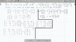 Matriz de una transformación de R3 a R3