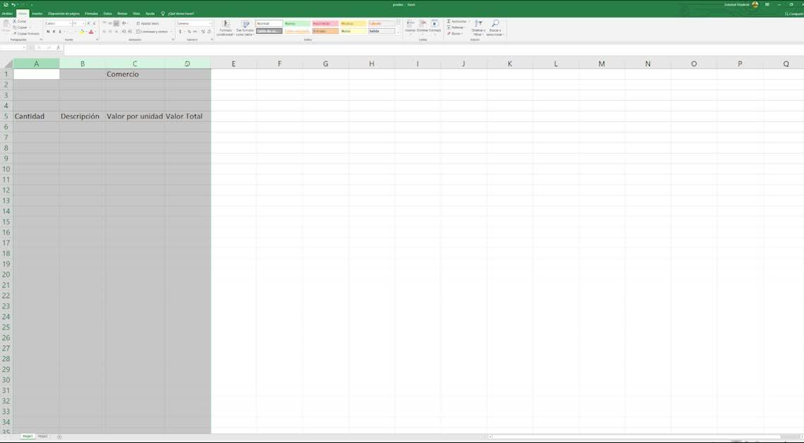 Excel: Introducción y fórmulas básicas