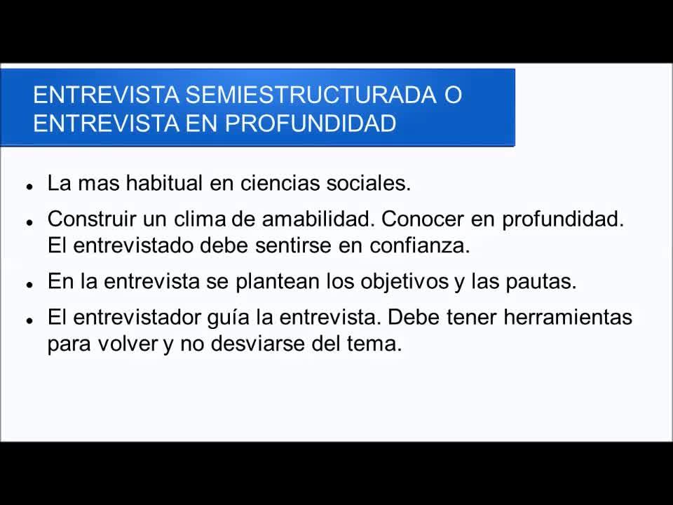 Clase teórica 8 - La entrevista cualitativa - Metodología de la investigación social (comunicación)