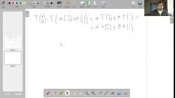 UNM - Hallar la matriz de la TL a partir de vectores que se transforman en múltiplos de sí mismos 2