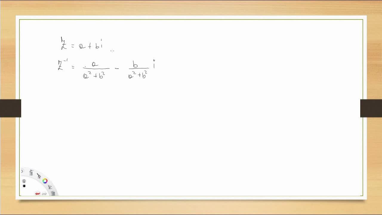 Inverso y división de complejos