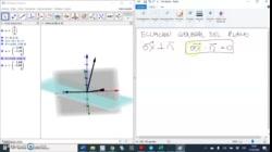 Ecuación general del plano por el origen
