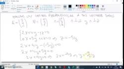 Ecuación implícita del plano dados tres puntos