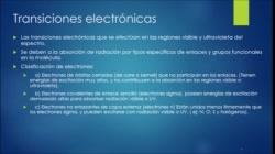 Generalidades de espectrofotometría UV-VIS