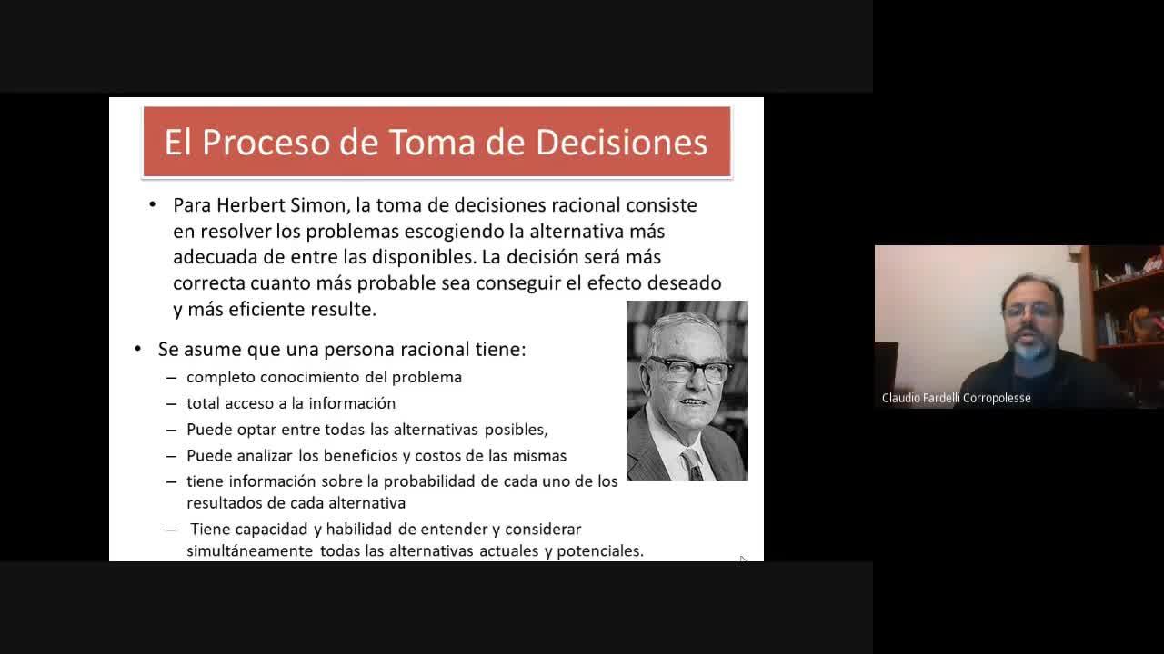 Administración  Estratégica - Semana 11 - El Proceso decisorio