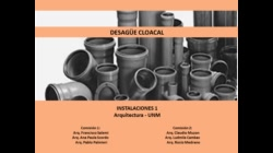 Parte 1/4 - Cloacal y Pluvial - Instalaciones 1 UNM