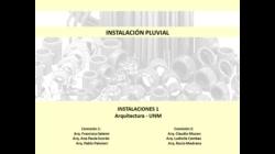 Parte 4/4 - Cloacal y Pluvial - Instalaciones 1 UNM