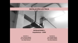 Parte 5/5 - Eléctricas - Instalaciones 1 UNM