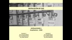 Parte 3/3 - Gas - Instalaciones 1 UNM