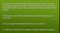 REGLAS BASICAS PARA EL LABORATORIO BIOLOGIA  video UNM 2020 (1)
