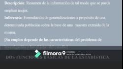 Metodología de la investigación social (comunicación) CLASE - Introducción a la estadística descriptiva