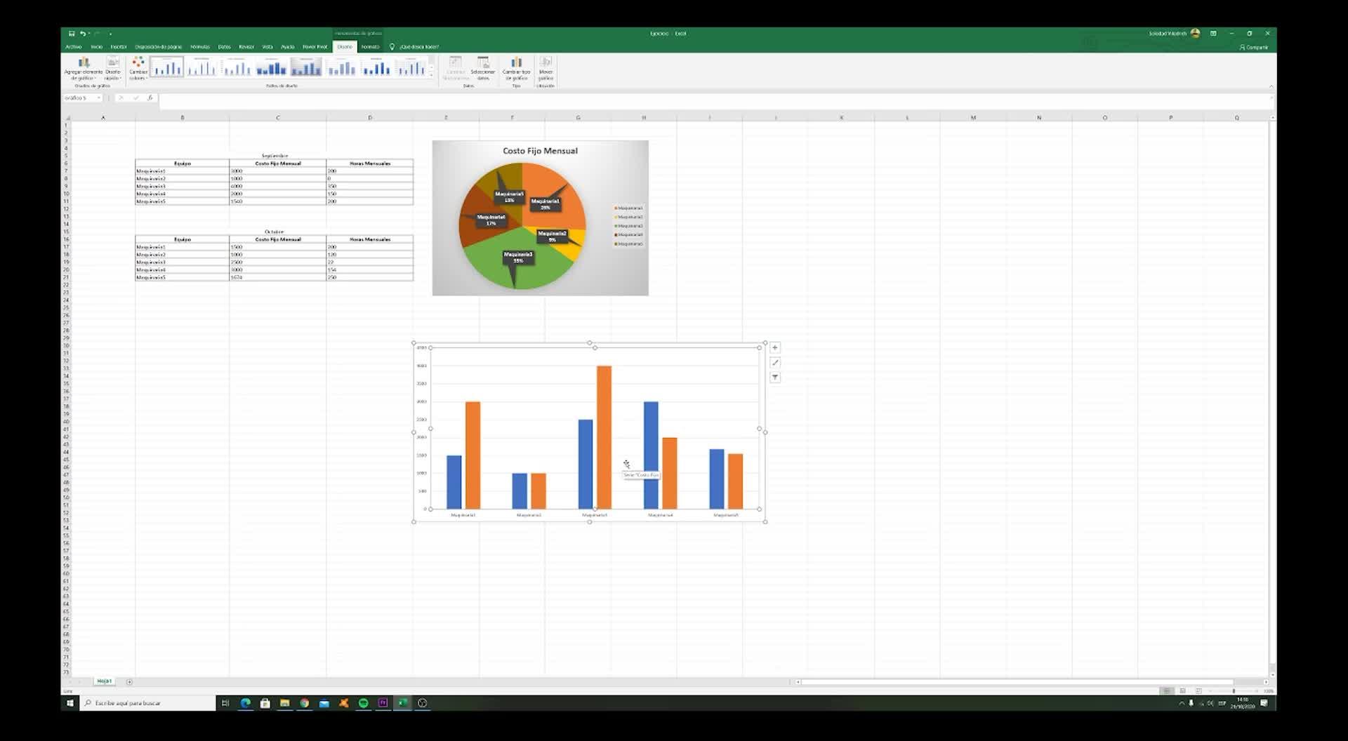 Excel: gráficos